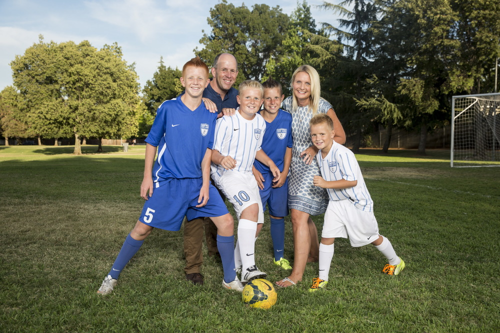 Soccer Family for Money Magazine
