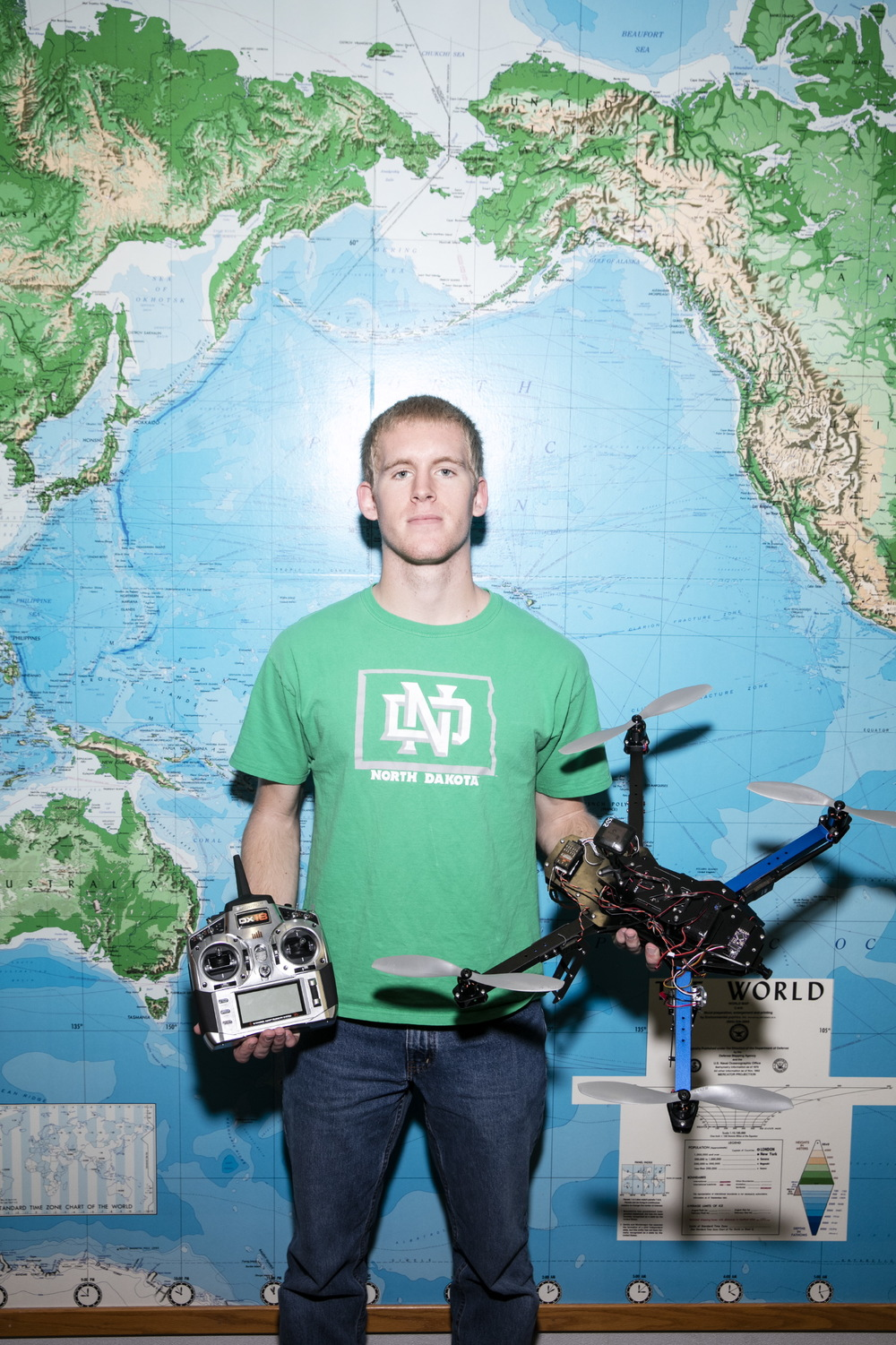 North Dakota Drones for The New York Times