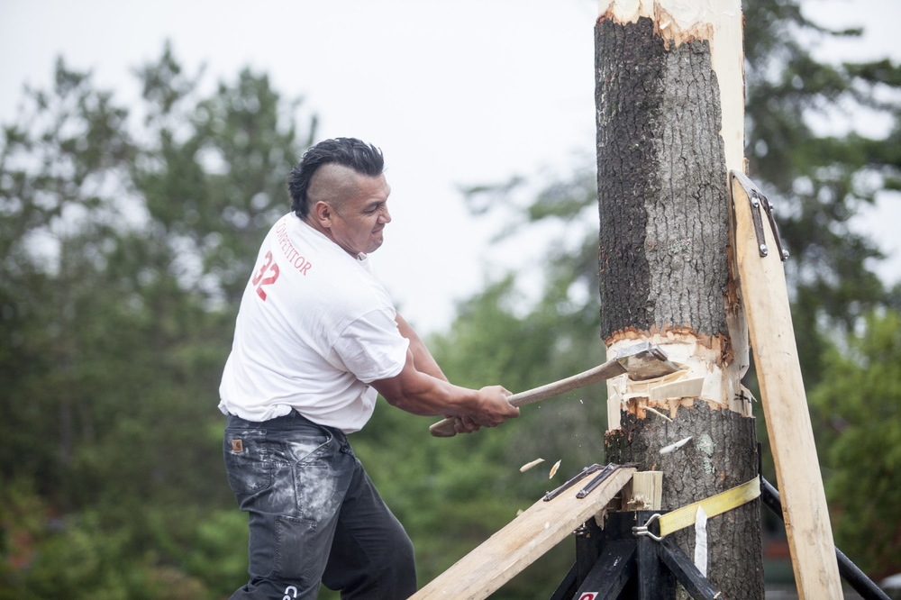 World Lumberjack Championship for TIME