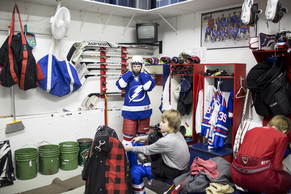 Hockeytown, USA for The New York Times