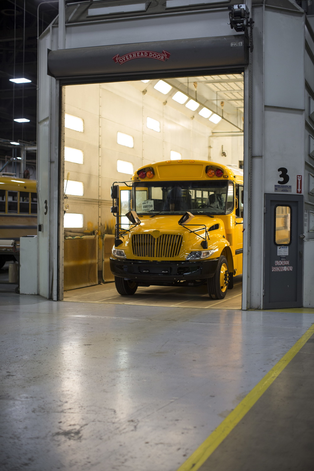 Making of a School Bus for International Bus