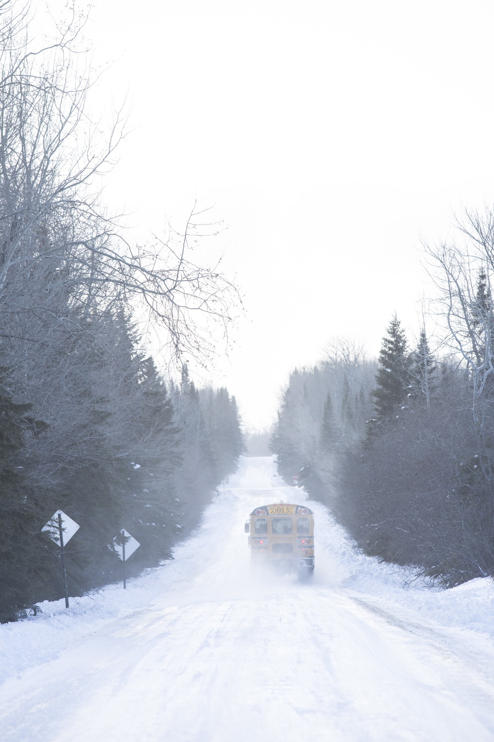 Toughest Bus Route in America for International Bus