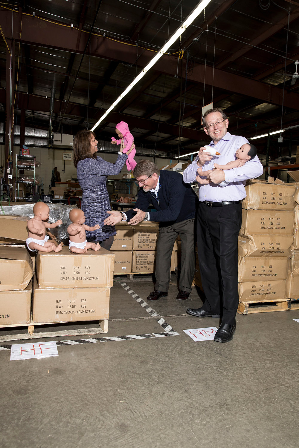 Robotic Babies for Bloomberg Businessweek