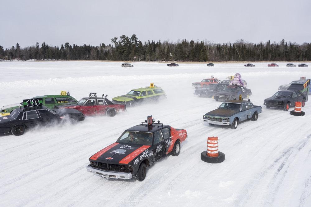 Ice racing in Laporte, Minn., on Mar. 1, 2015.   Photo by Ackerman + Gruber