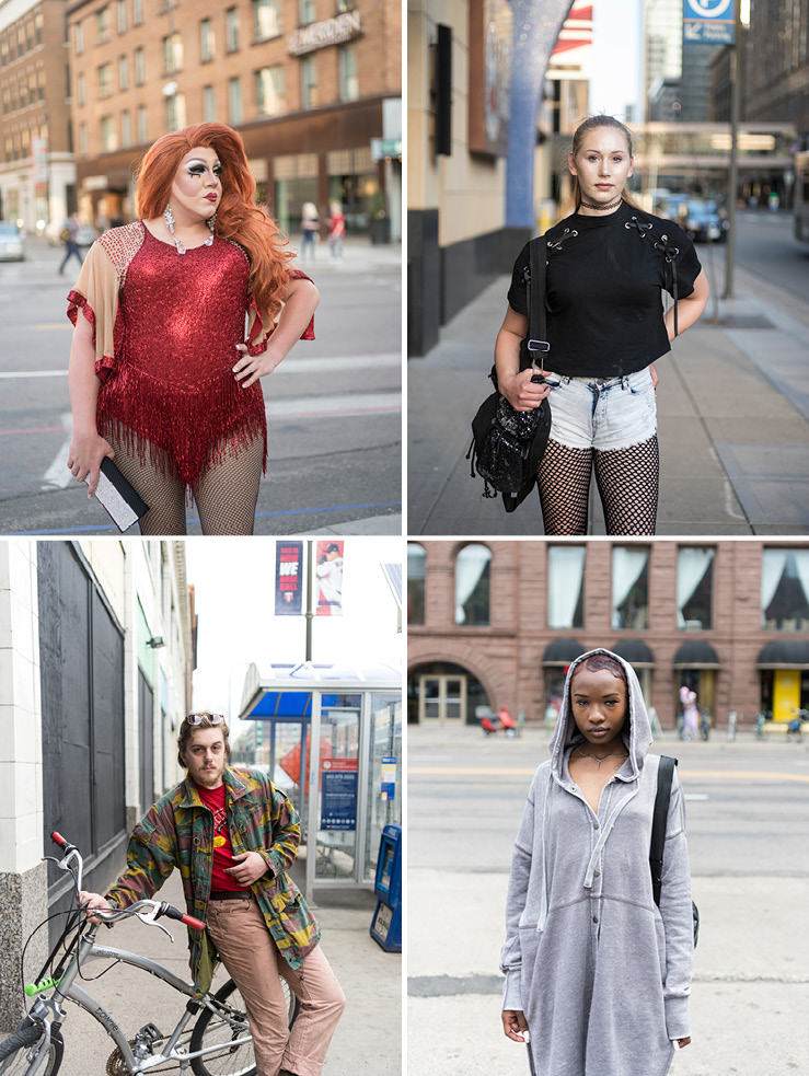 Portraits of Hennepin Ave for Mpls St. Paul Magazine