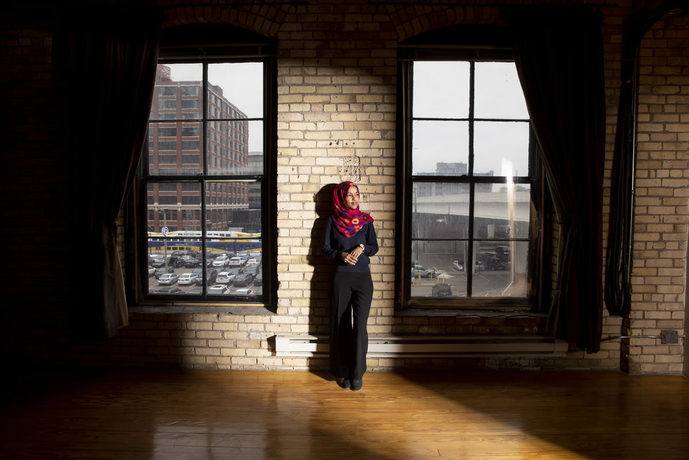 Ilhan Omar for The New York Times