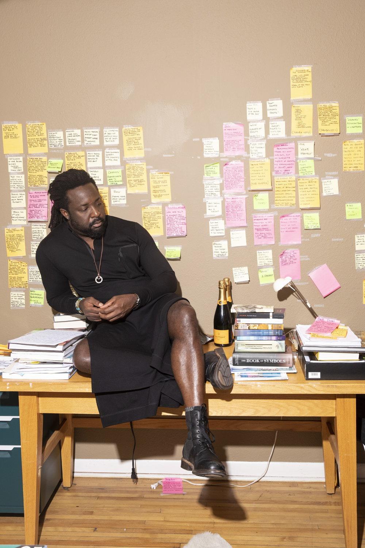Marlon James for Vanity Fair