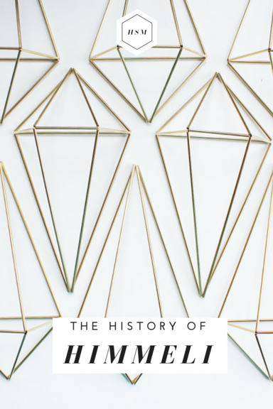 The History of Himmeli by Handmade Sam*Made
