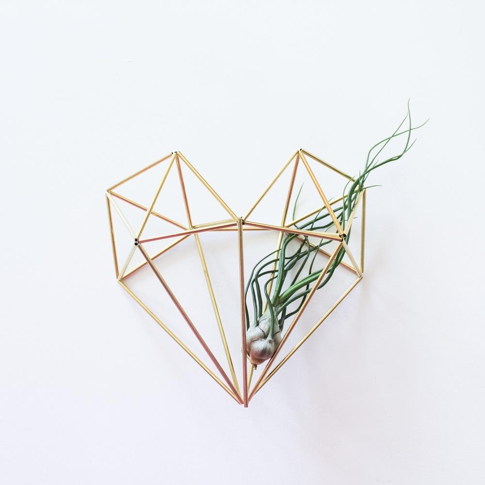 Handmade Sam*Made Himmeli Heart