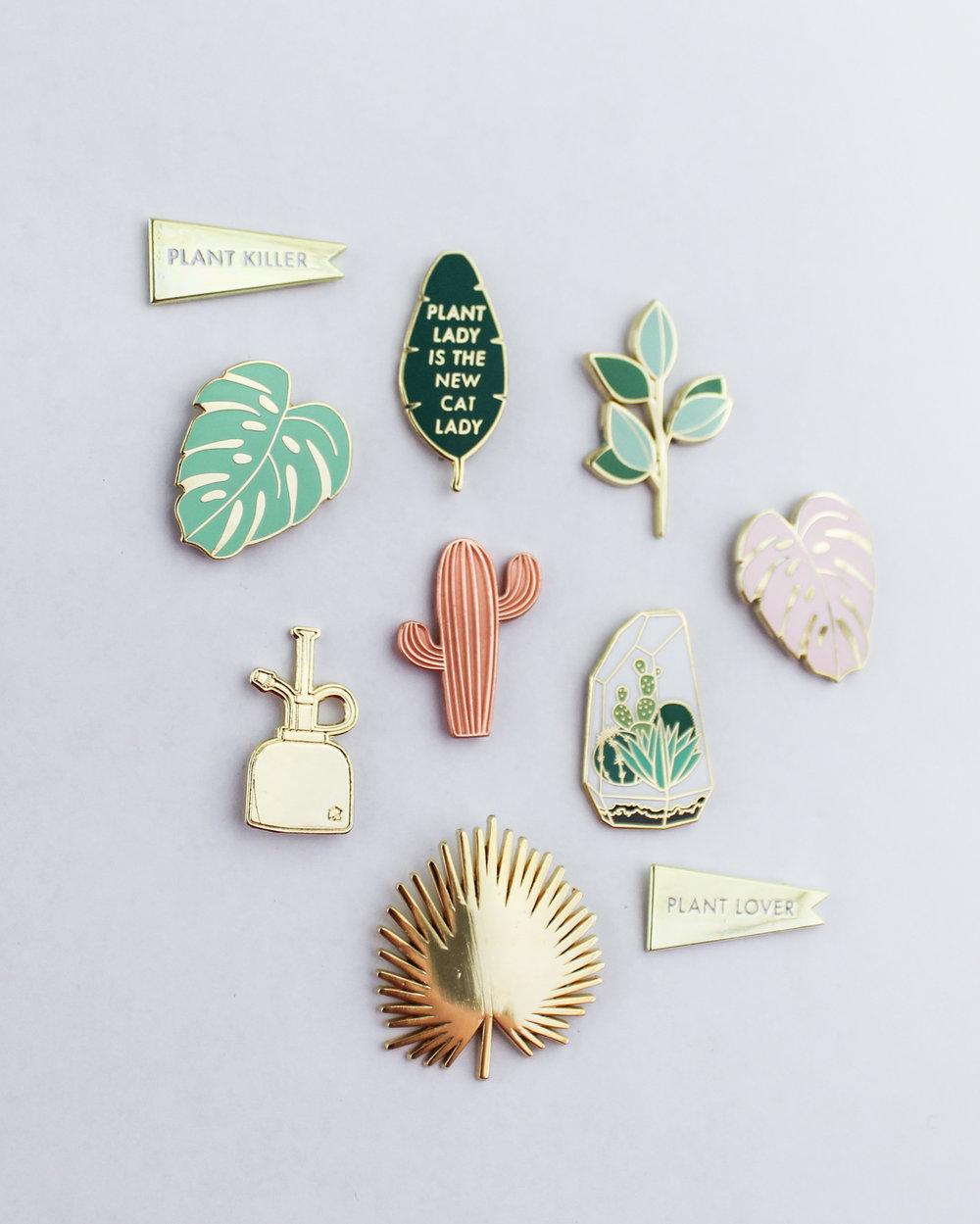 Enamel Pins by Hemleva | hemleva.com
