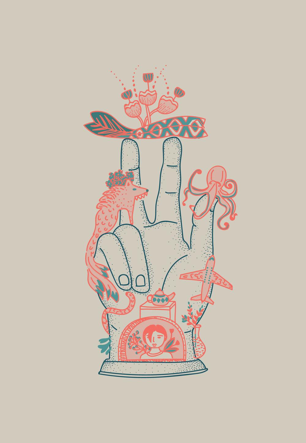 Mi mano como la mano de Sabacio