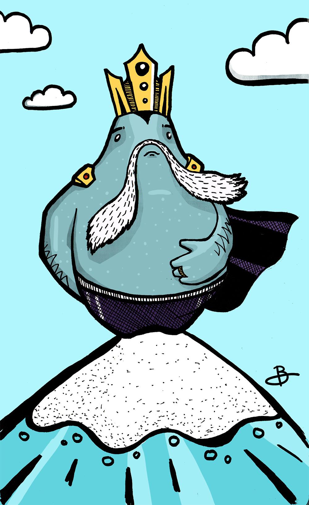 King Fish illustration