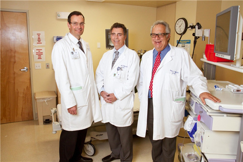 Dr. peter winkle, dr. michael demicco, and dr. dennis riff