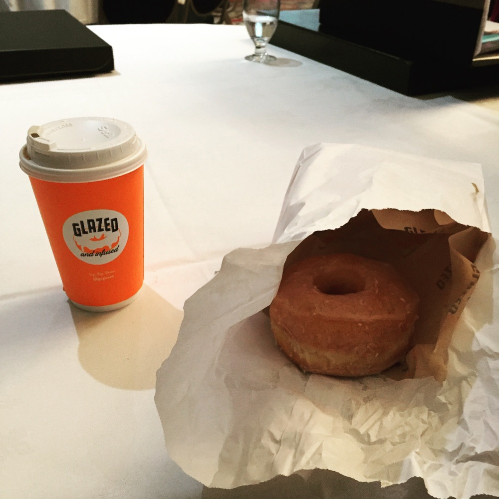 Doughnut & Coffee