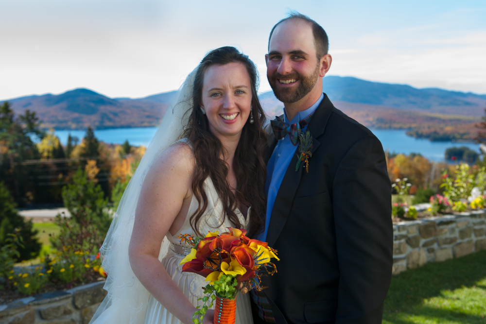 Wedding Portrait at Blair Hill Inn