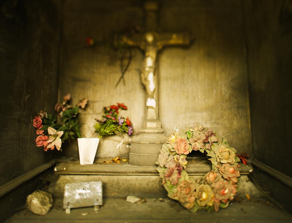 Père Lachaise Cemetery Tomb