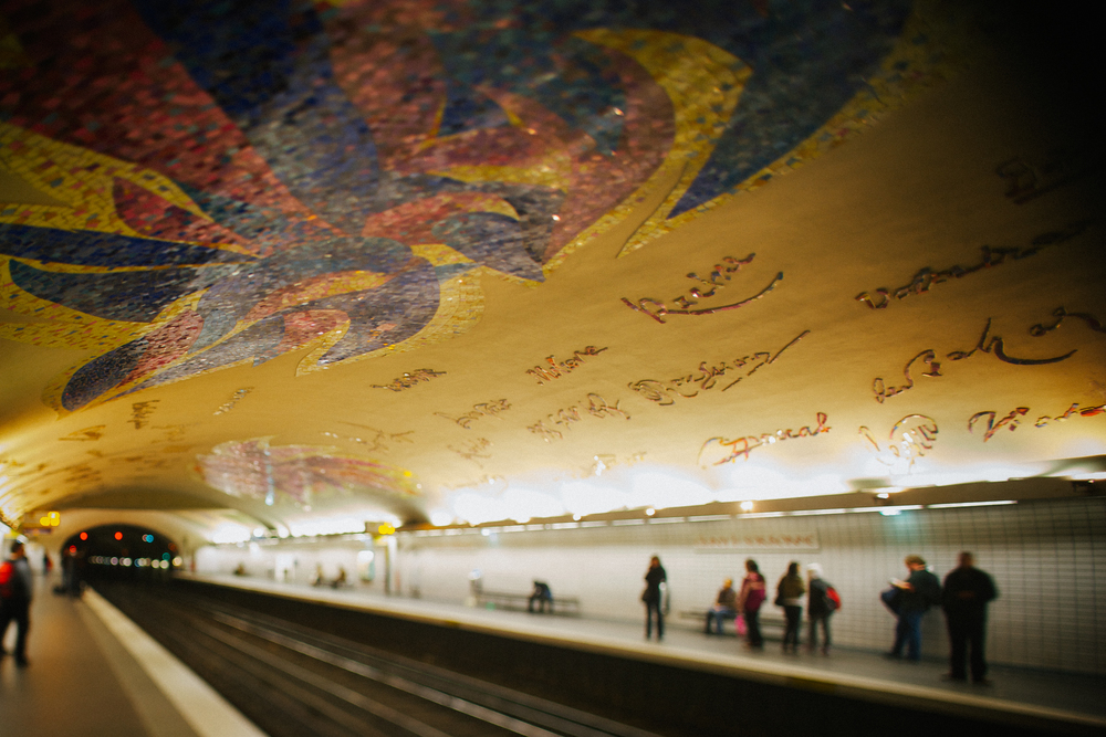 Metro station Cluny-Sorbonne