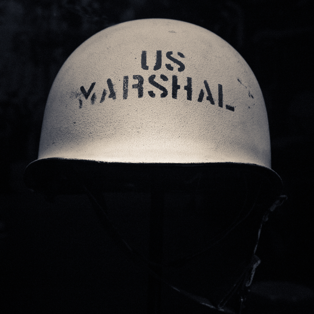 Federal Marshall's Helmet