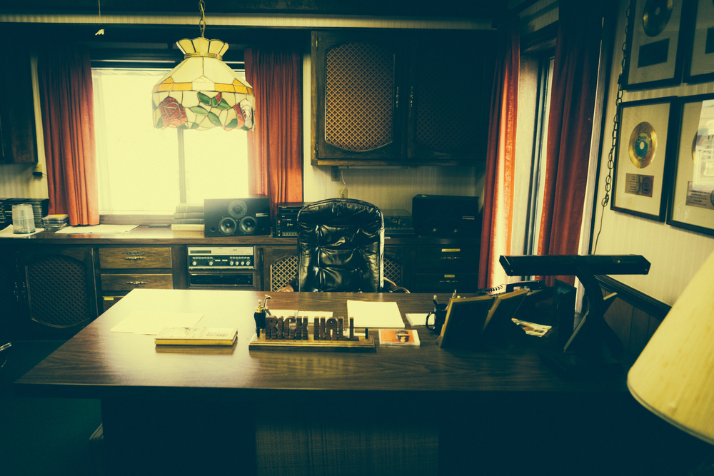 Rick Hall's Desk