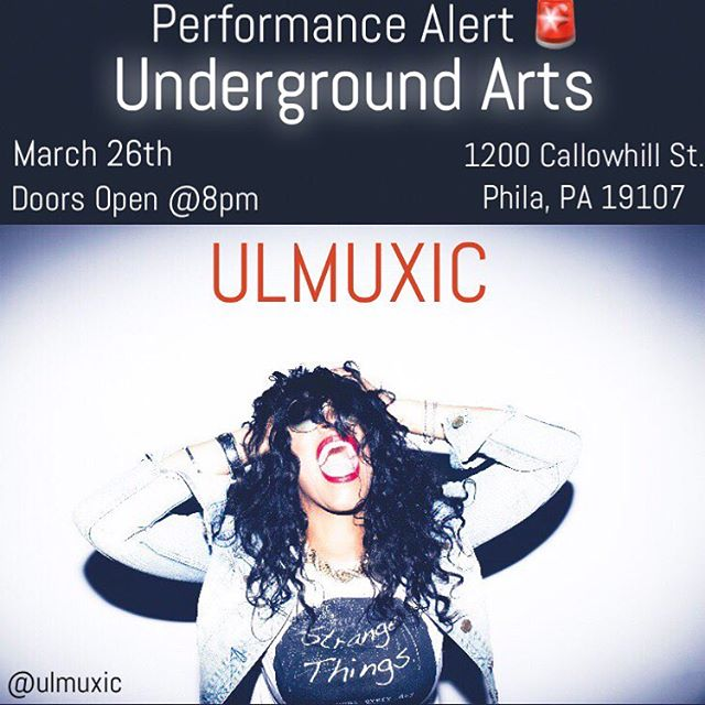 On Tuesday the 26th ULMUXIC will be hitting the stage with some bomb azz artist in philly. Today is the last day to RSVP🥰 I'm bringing the X's! I'm all about positive energy and exchange. If you gon be stank and act Hollywood keep ya azz home 🗣 I repeat stay HOOOOOMMMEE! For those that are attending I have your names and it's going down on a Tuesday 😝 let's live a lot! #freethinker #multiverse #ulmuxic #entertainment #entertainer #singersongwriter #dancer #traveler #popmusic #party #livemusic #philly #indie #recordingartist #recordlabel #promoter #booking #promotions