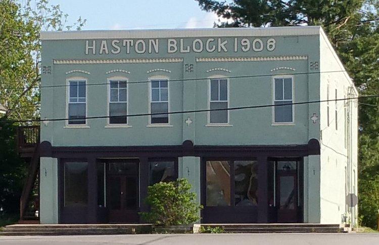 The Haston Block Building