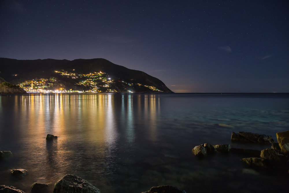 Midnight in Moneglia