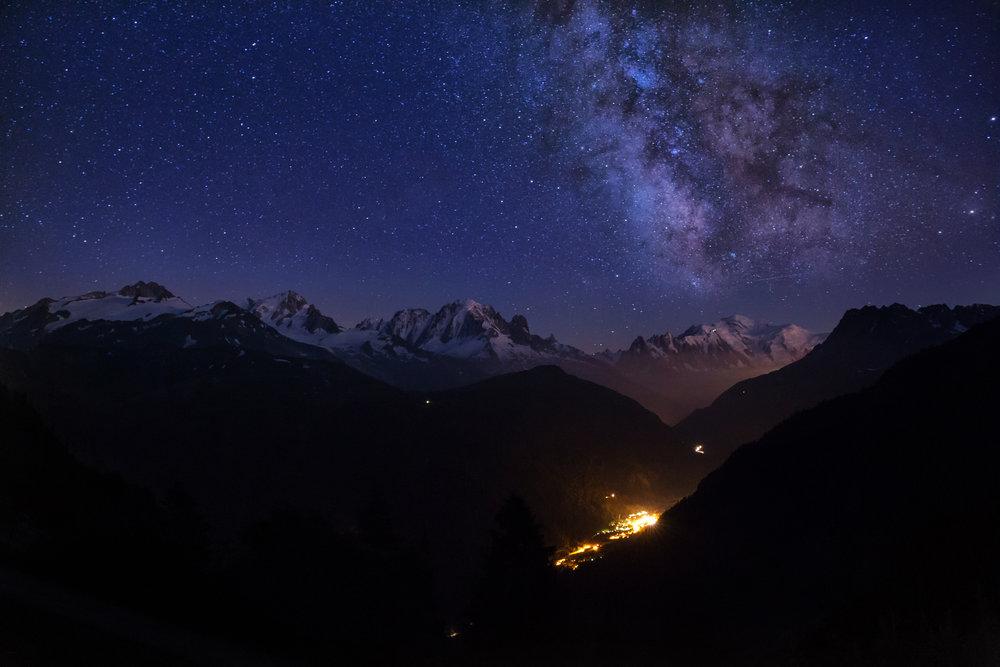 Milky Mont Blanc