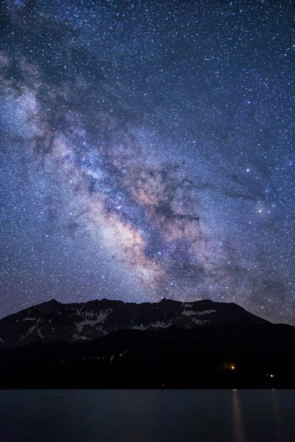 Trout Lake Milky Way (click to enlarge)
