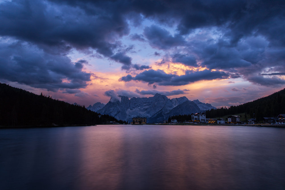 Misurina Tramonto (click to enlarge)