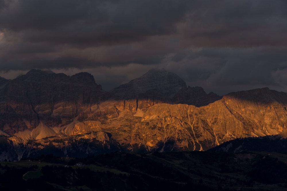 Dolomiti Alpenglow