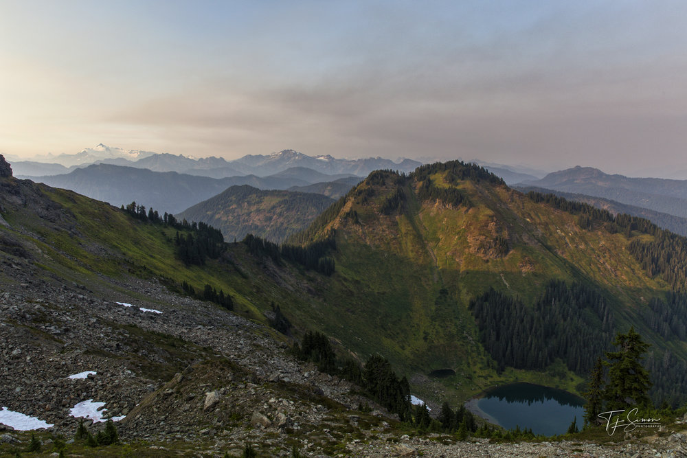 Sauk Lake and the North Cascades