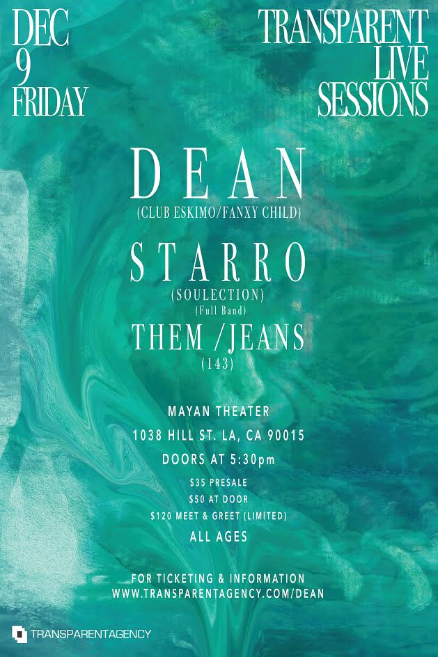 Transparent Live Sessions: Dean, Starro and Them Jeans
