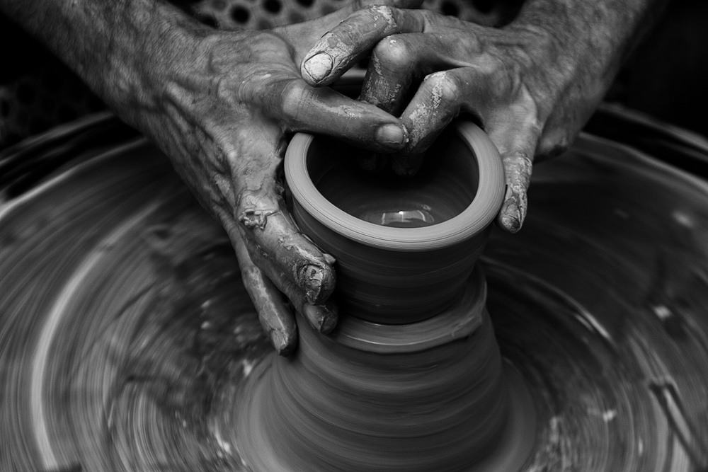 In the Potter's hands...