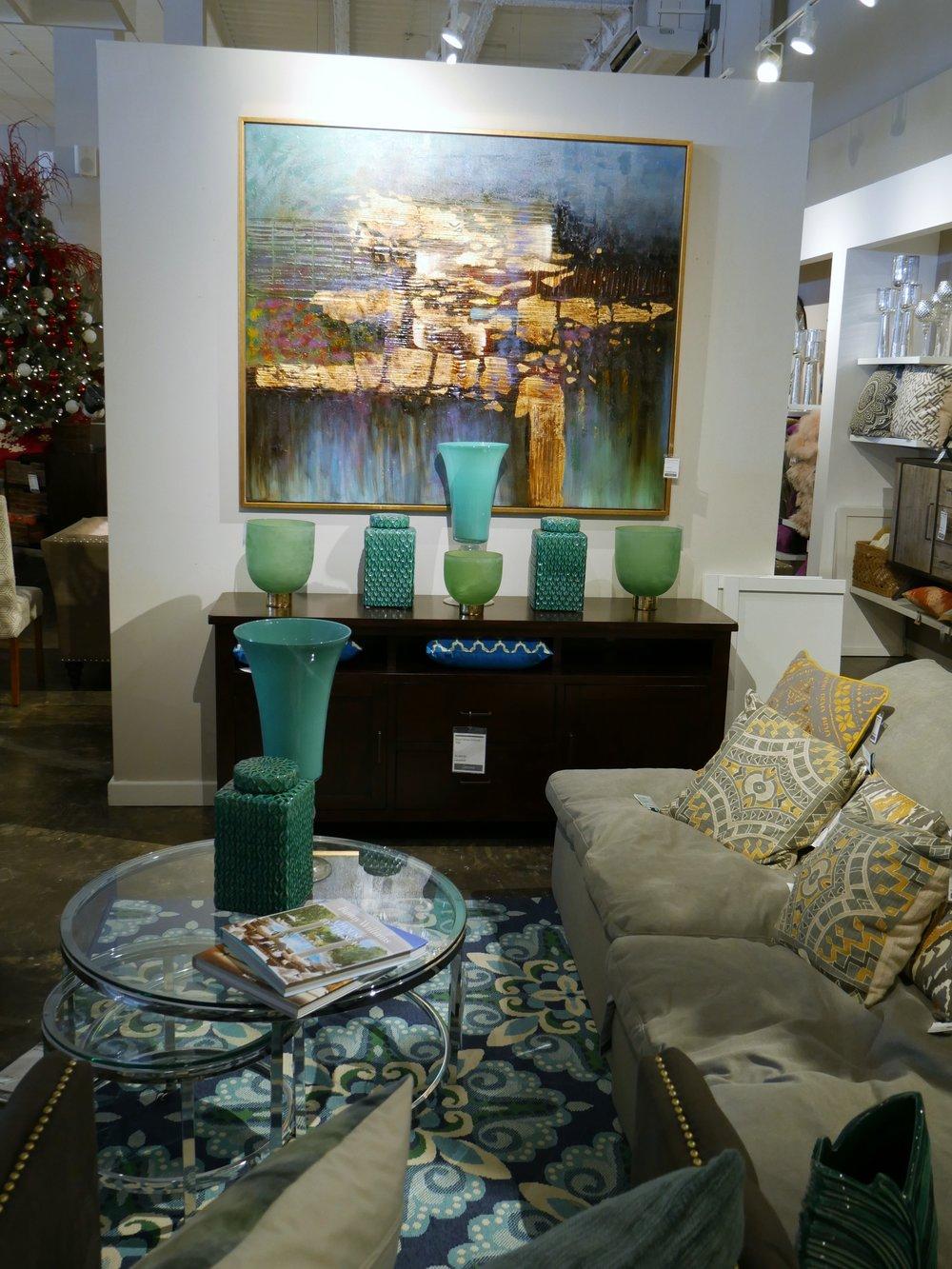 Living Room setup at Dwellings TT