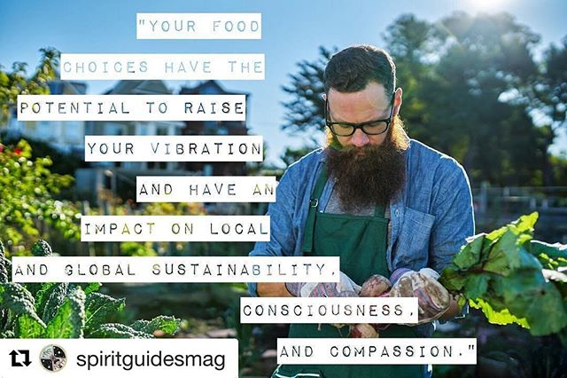 So, where does food come from? Check out my latest article on @spiritguidesmag and do the work to make an educated decision that works best for your lifestyle ❤️🥑🍎🍌