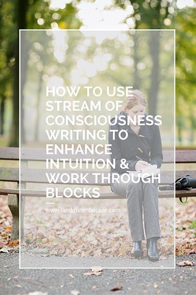 Stream of Consciousness Writing