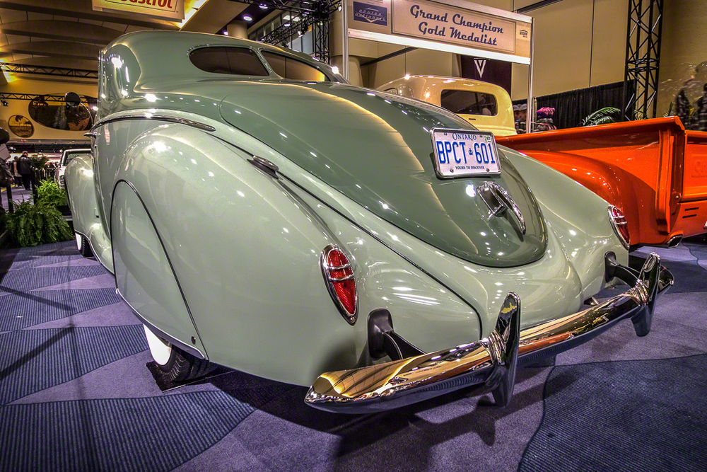 1939 Lincoln Zephyr DJolly Rear