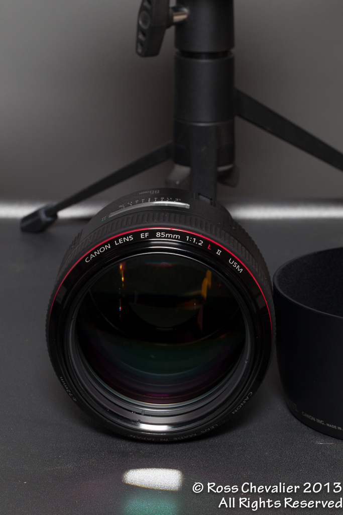 Canon 85/1.2L II Front