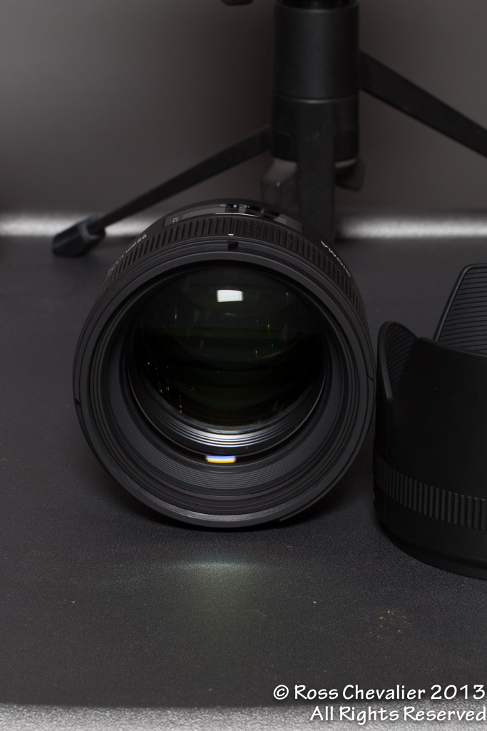 Sigma 85/1.4 Front