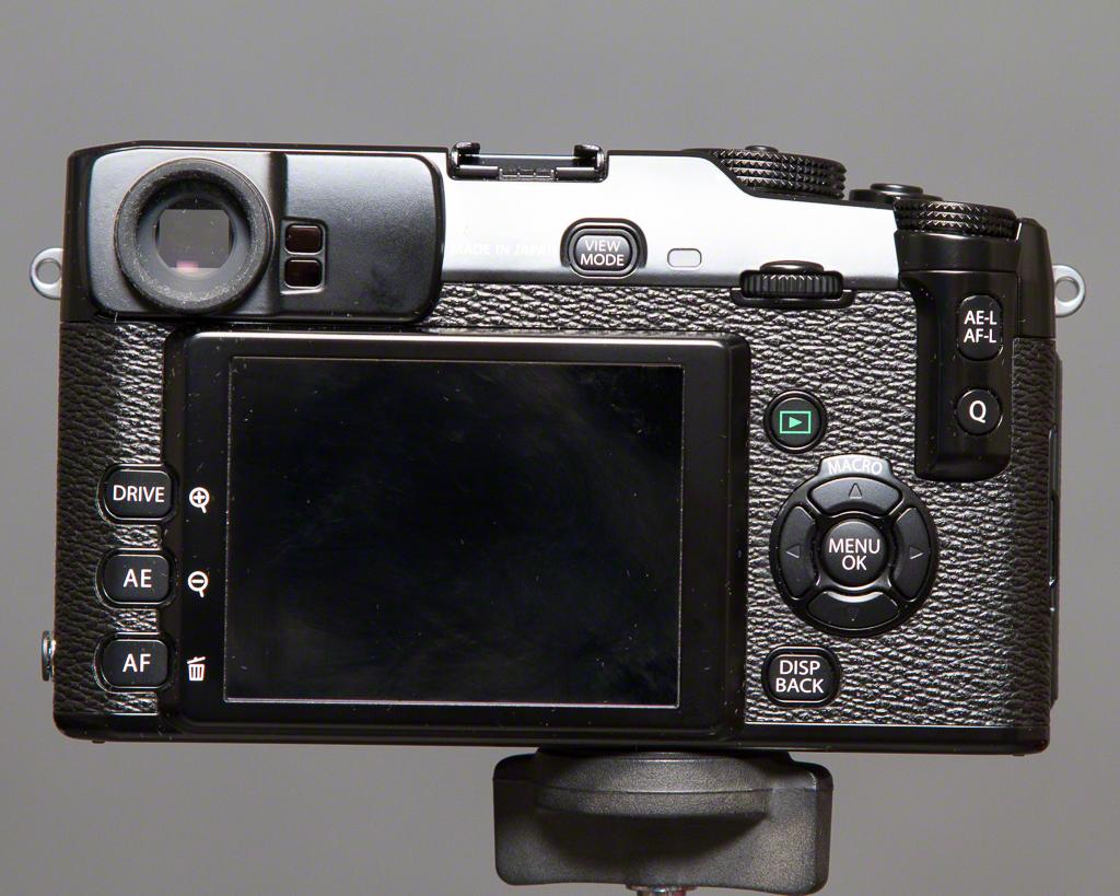 X-Pro1 Rear View