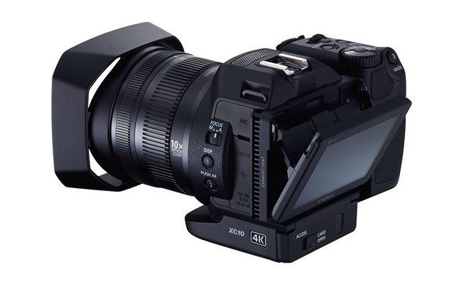 Canon XC10 Rear