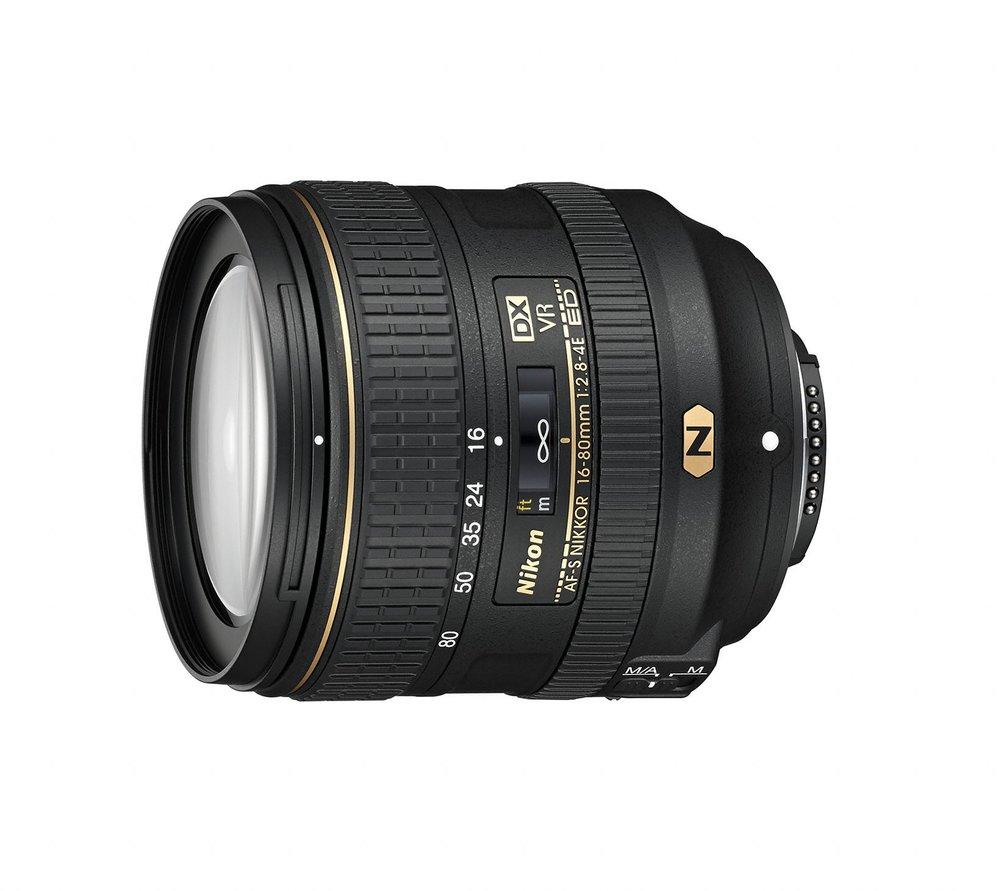 AF-S NIKKOR 16mm-80mm f/2.8-4E ED VR