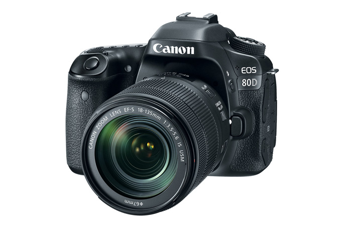 The just announced Canon 80D