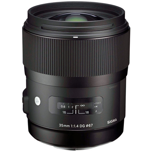 Sigma's very awesome 35/1.4 DG ART lens