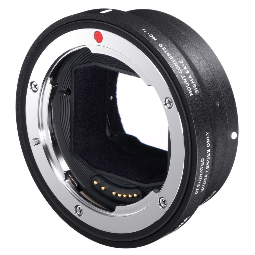 Sigma's MC-11 allows you to mount Sigma Canon EF mount lenses on Sony FE mount bodies and preserve exposure control and autofocus.  Who knows, you might even be able to mount OEM Canon lenses, although this is not officially supported.