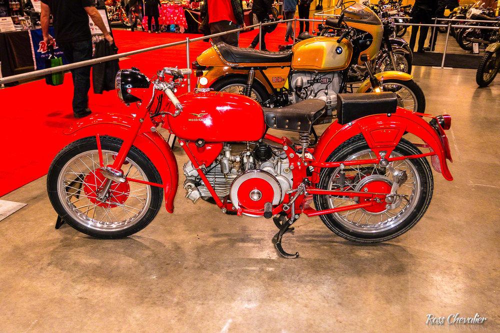 A Classic Moto Guzzi