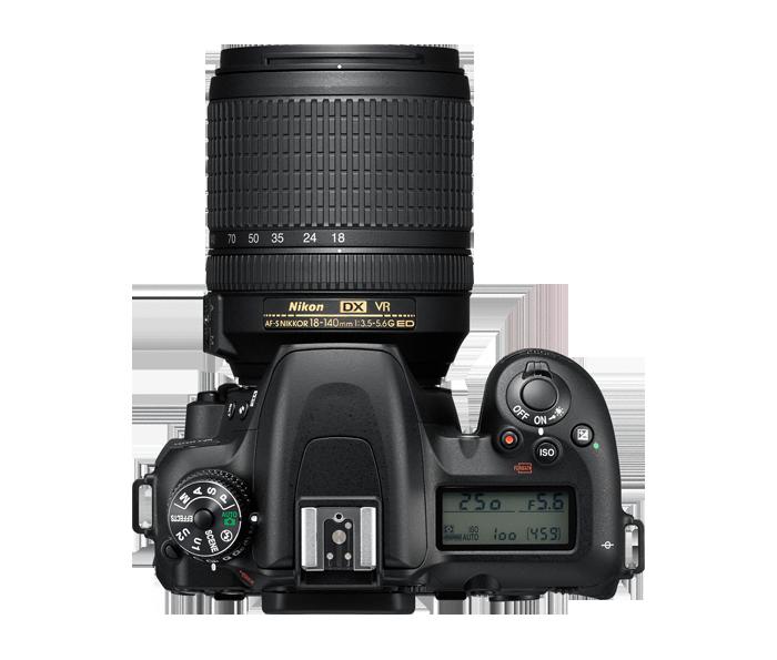 Standard Nikon D7xxx top deck