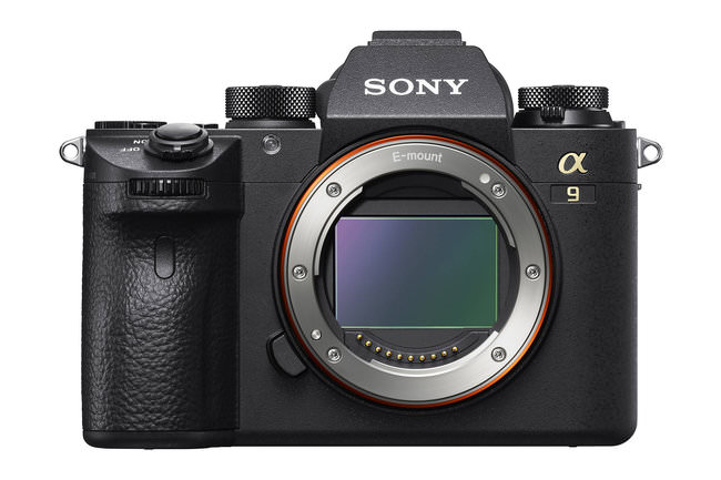 The Sony a9 body