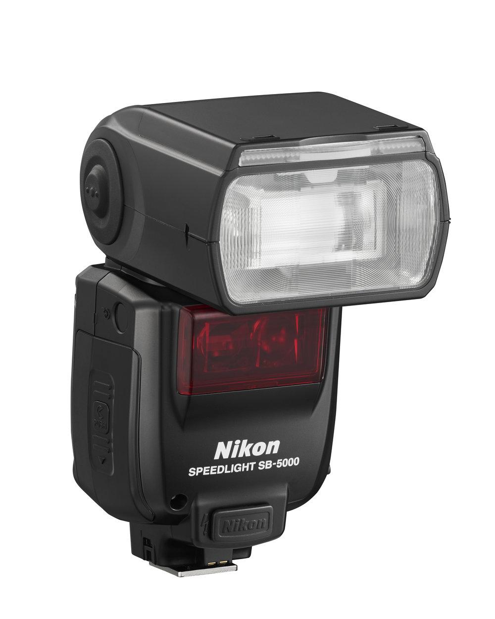 Nikon's radio/optical capable Speedlight, the SB5000