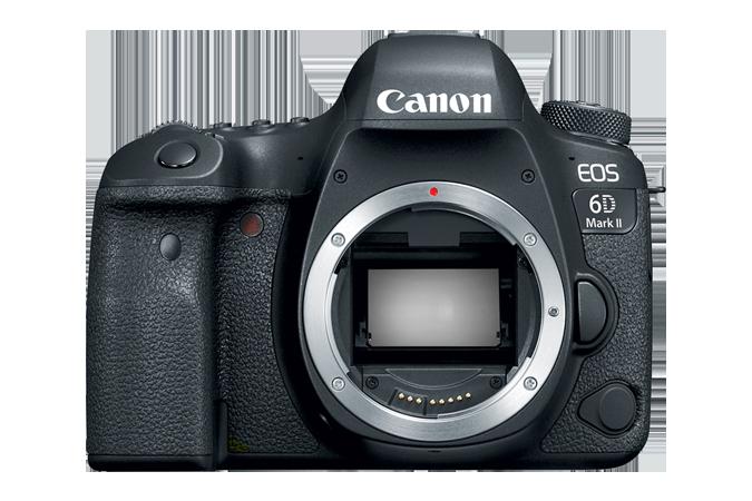 Canon's newly announced 6D Mark II